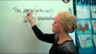 Predicate adjectives/Nouns