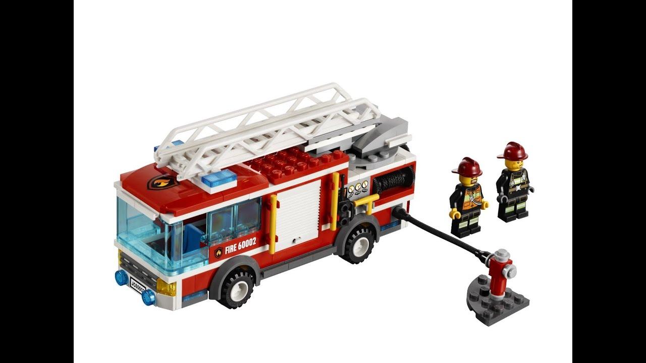 LEGO City camion de bomberos Juguete Para nios  YouTube