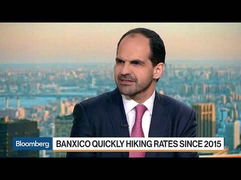 Banorte Economist Sees Banxico Hiking Rates Twice Before Election