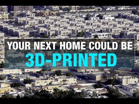 Dubai's Skyline To Have 3D Printed Buildings By 2030