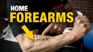 Home Forearm Exercises (RIPPED FOREARMS - WITH A CHAIR!)