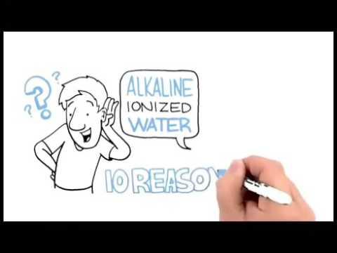 10 Benefits of Alkaline Ionized Water