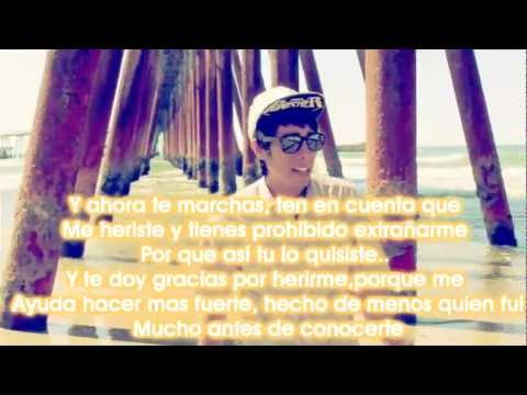 Antes De Conocerte con letra - Kronos Video Oficial