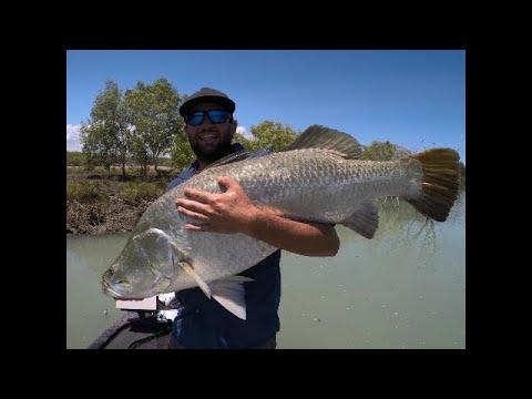 The Most Epic Big Fish Capture 118cm Barramundi