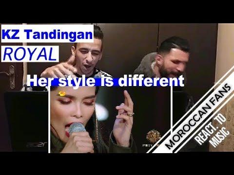 Arab React to   KZ Tandingan《Royal》Singer 2018 - Episode 9    MOROCCAN REACT
