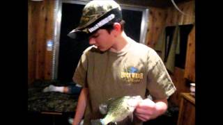 Walleye Slayers- HIttin Up Hanska Crappies