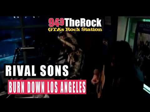 Rival Sons - Burn Down Los Angeles (LIVE at the Rock Studios)