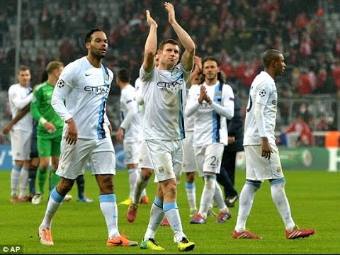 Bayern Munich vs Manchester City 2-3 Highlights UCL | 2013/14 HD | 720p | English Commentary
