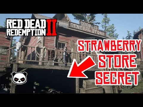 Red Dead Redemption 2 | Secret Illegal Business Strawberry Store