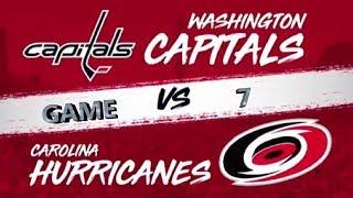 Вашингтон Каролина Игра 7 Плей офф 1 8 финала Обзор матча