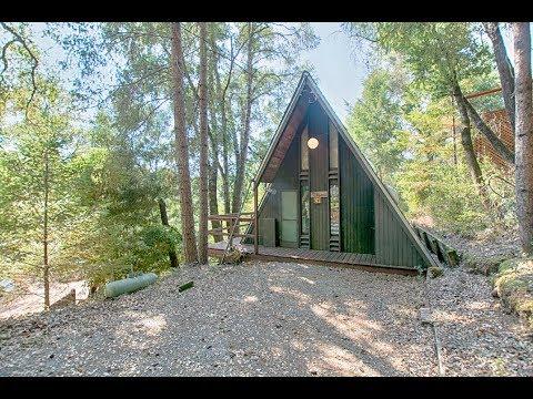 Serene Santa Cruz Mountain Cabin Nestled In The Redwoods   Cabin #41