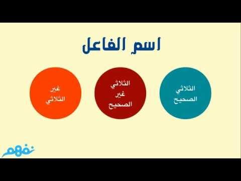 اسم الفاعل اللغة العربية للصف الثالث الإعدادي الترم الثاني المنهج المصري نفهم Youtube