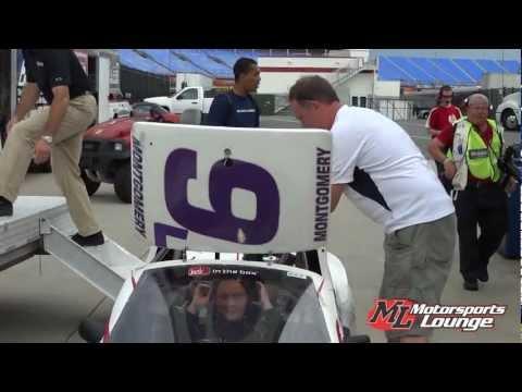 Motorsports Lounge Interview - Liz Montgomery First-Career Bandolero Beginner Bandits Victory
