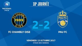 Chambly vs Pau full match