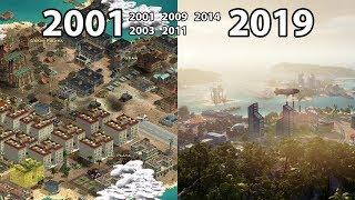 Evolution of TROPICO Games (2001-2019)