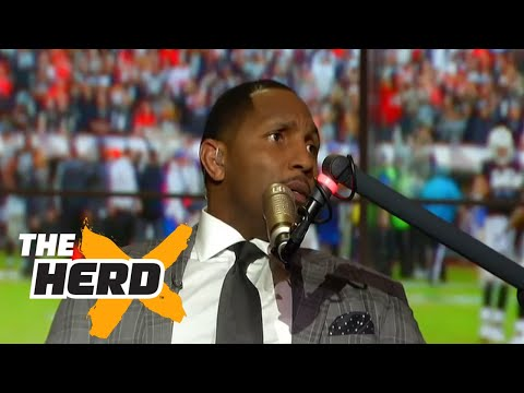 Ray Lewis takes you inside his visit with Donald Trump | THE HERD (FULL INTERVIEW)