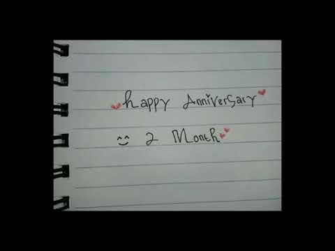 Happy anniversary (2 month) sayang😘⚘