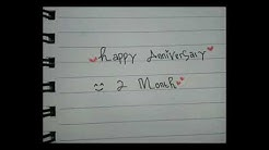 Happy anniversary (2 month) sayang?⚘