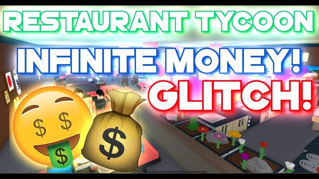 Roblox Restaurant Tycoon Infinite Money Glitch Bug 2020