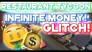 Roblox | Restaurant Tycoon - INFINITE MONEY GLITCH / BUG! [2018] Robloxman78