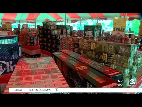Sales of fireworks booming around Omaha