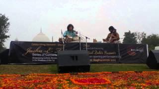Ustad Zakir Hussain and Murad Ali Khan