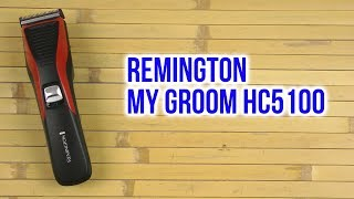 Розпакування REMINGTON My Groom HC5100