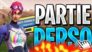 🔴PARTIES PERSO ! FACECAM ! LIVE FORTNITE FR