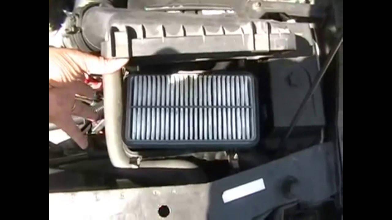 Saturn SL1 Air Filter Change - YouTube
