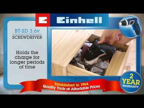 Einhell Blue 3.6 Lithium Screwdriver (BT-SD 3.6)