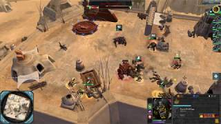 dawn of war ii retribution very hard difficulty ork faction mission 3 argus settlement