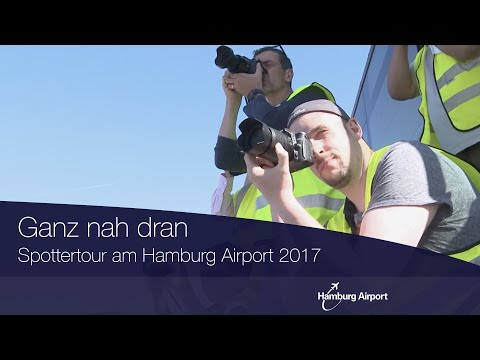 Spottertour am Hamburg Airport 2017