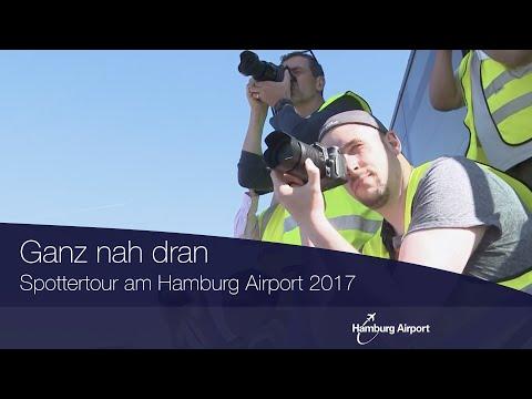 Spottertour am Hamburg Airport 2017