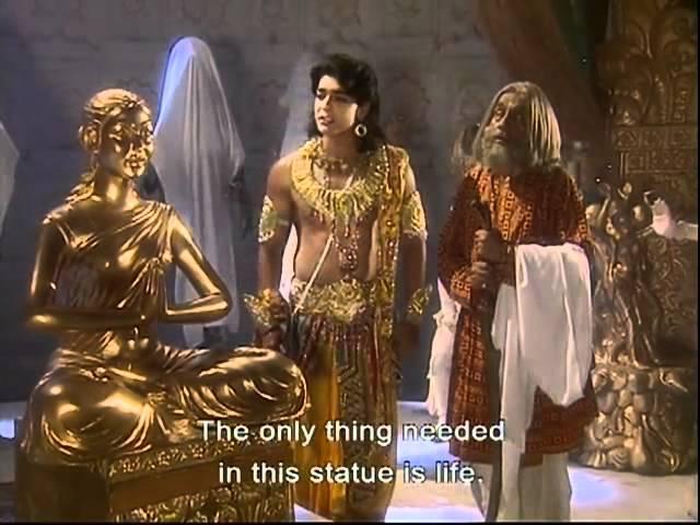 Ramayan: Devi Sitas swarn-murti is presented to Lord Ram