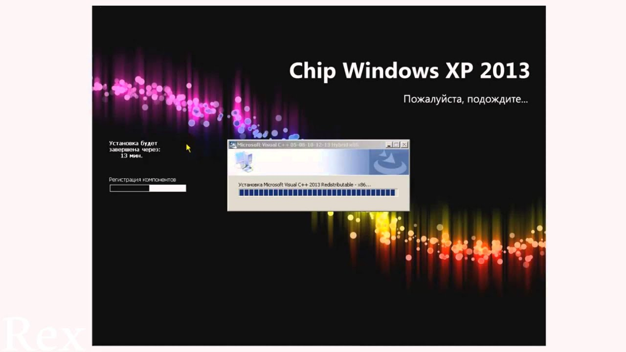 Торрент chip windows xp.