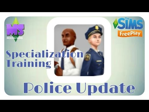 Download The Sims Freeplay - Police Update| Specialization Training Quest