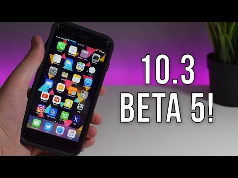 iOS 10.3 Beta 5! Final Release Coming Soon??