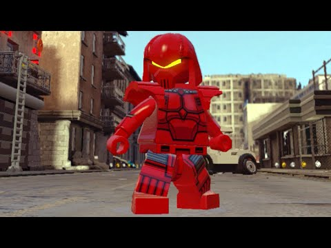 Lego Marvels Avengers How to Unlock Crimson Dynamo in Sokovia