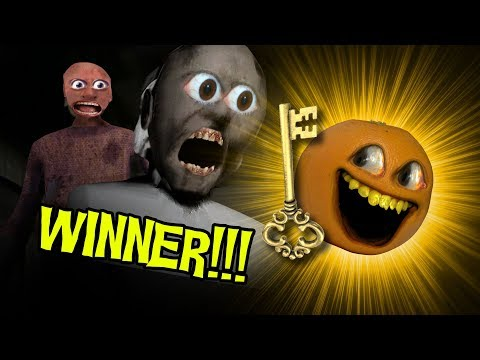 Annoying Orange BEATS Granny Chapter 2!!!