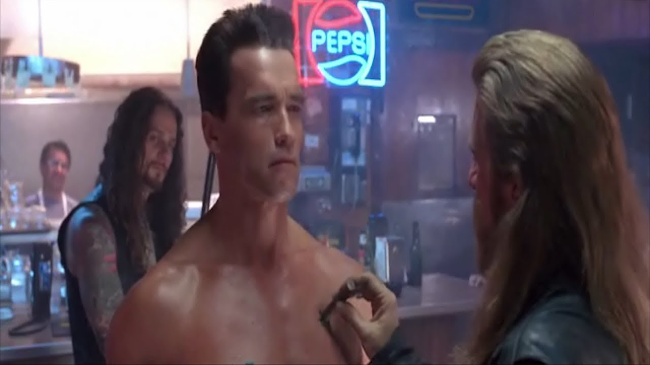 Download Terminetor In The Bar | Terminator 2 Judgment Day
