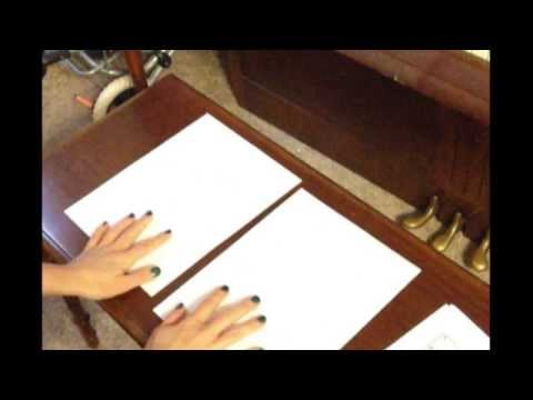 How To Tape Sheet Music