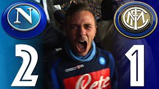 NAPOLI 2 - 1 INTER | DOPPIETTA HIGUAIN LIVE FULL HD CURVA A - FIUSGAMER