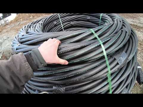 Installation Of A Geothermal System Using A Twister Loop System