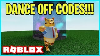 ROBLOX GIANT DANCE OFF SIMULATOR CODES