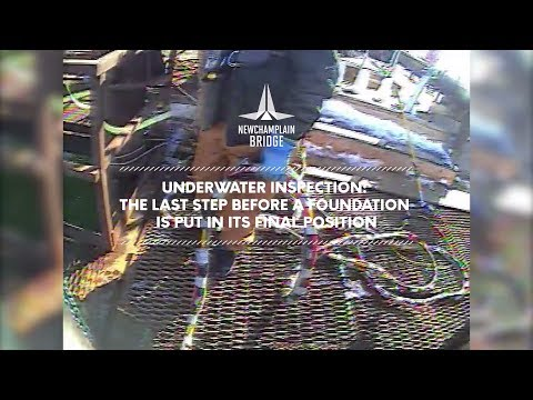 Underwater inspection: the last step before a foundation is put in its final position