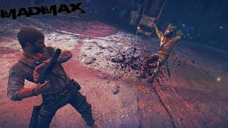 Mad Max: Brutal Melee & Car Combat Gameplay - Free Roam & Hideout Clearing (Xbox One X)
