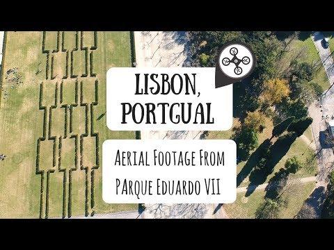 Lisbon, Portugal - Aerial Drone Footage