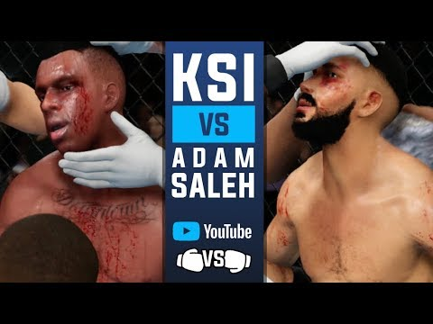 KSI vs Adam Saleh 🥊 EPIC Boxing Match ( Boxing Rules Only UFC 3)