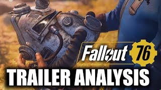 Fallout 76 - E3 TRAILER BREAKDOWN - 4X MAP SIZE of Fallout 4!!