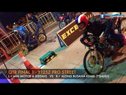 MUSC Kulim 201m Drag Race 2015 - Y125z Pro Street
